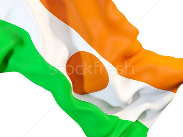 флаг Нигер 3d иллюстрации путешествия Сток-фото © MikhailMishchenko