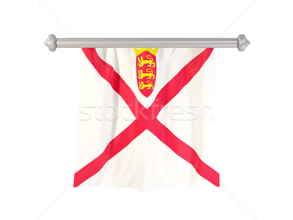 Pennant with flag of jersey Stock photo © MikhailMishchenko