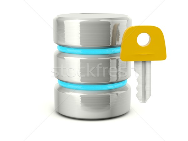 Stock photo: access data base icon