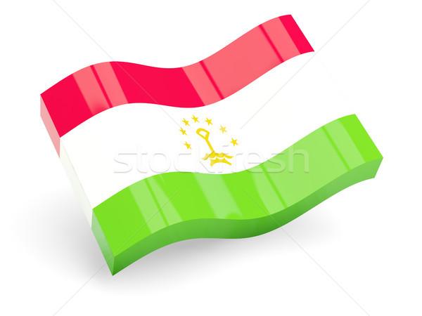 3d flag of tajikistan Stock photo © MikhailMishchenko