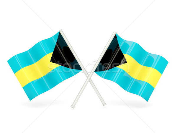 Flag of bahamas Stock photo © MikhailMishchenko