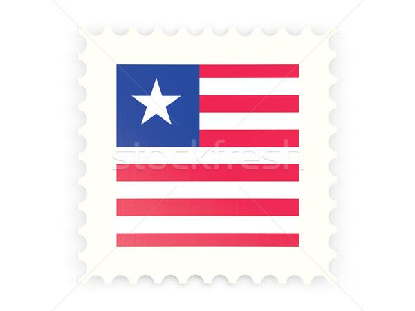 Postage stamp icon of liberia Stock photo © MikhailMishchenko