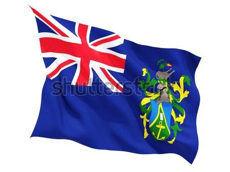 Waving flag of cayman islands Stock photo © MikhailMishchenko