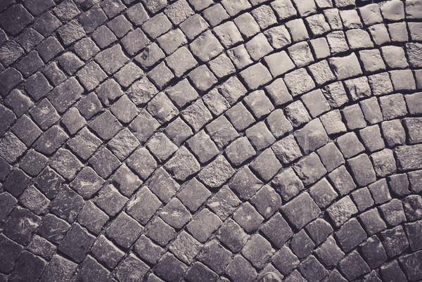 Cobblestone pavement Stock photo © MikhailMishchenko