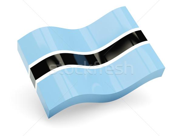 3d flag of Botswana Stock photo © MikhailMishchenko