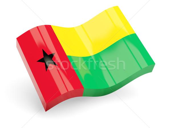 3d flag of guinea bissau Stock photo © MikhailMishchenko