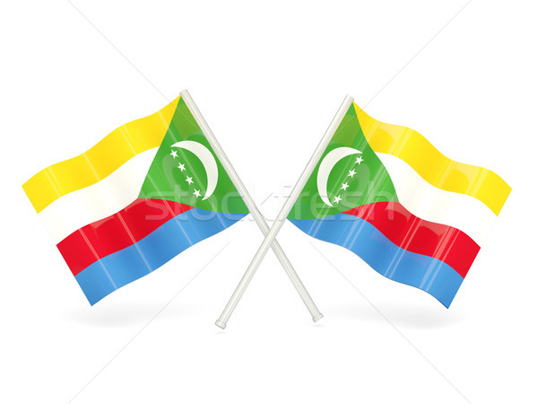 Flag of comoros Stock photo © MikhailMishchenko