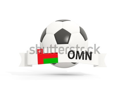 Flag of iraq with football in front of it Stock photo © MikhailMishchenko