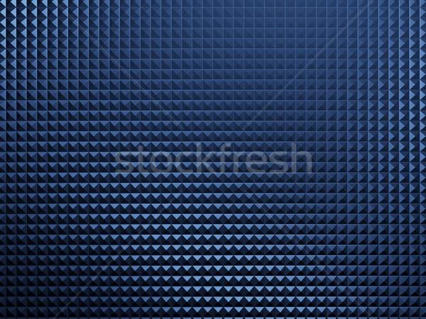 Niebieski metal tle Język przemysłu stali Zdjęcia stock © MikhailMishchenko