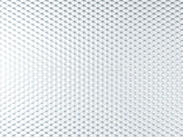 Beyaz Metal arka plan endüstriyel model tel Stok fotoğraf © MikhailMishchenko