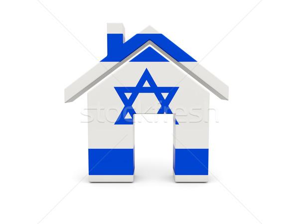 Home bandiera Israele isolato bianco ricerca Foto d'archivio © MikhailMishchenko