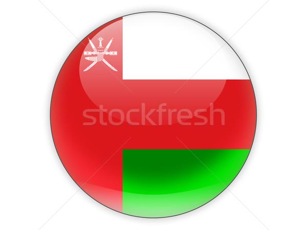 Round icon with flag of oman Stock photo © MikhailMishchenko