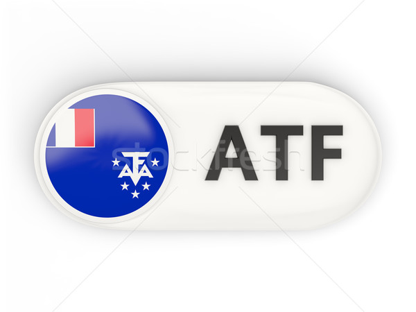 Icono bandera francés meridional iso código Foto stock © MikhailMishchenko