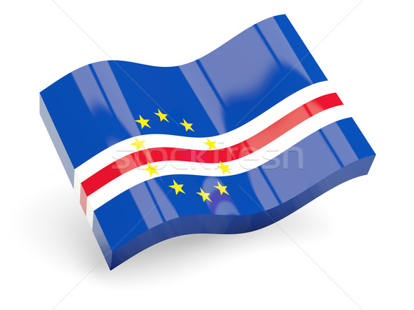 3d flag of cape verde Stock photo © MikhailMishchenko