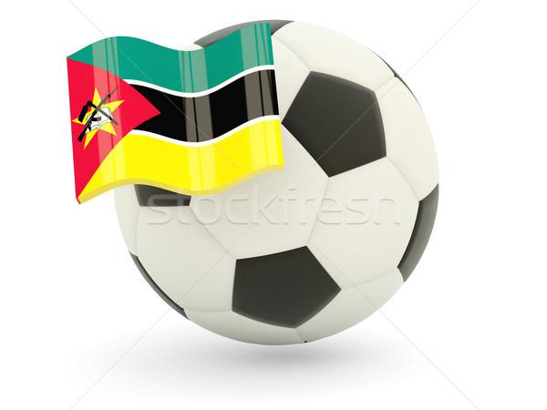 Football with flag of mozambique Stock photo © MikhailMishchenko