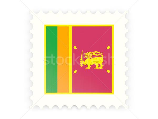 Postage stamp icon of sri lanka Stock photo © MikhailMishchenko