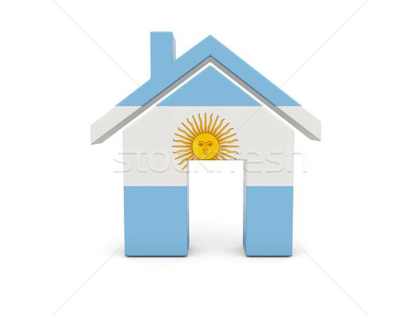 ホーム フラグ アルゼンチン 孤立した 白 検索 ストックフォト © MikhailMishchenko