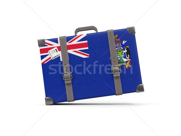 Csomagok zászló dél Grúzia szendvics sziget Stock fotó © MikhailMishchenko