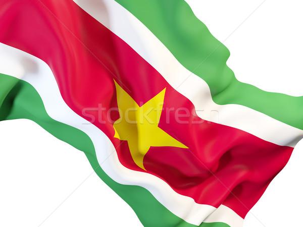 флаг Суринам 3d иллюстрации путешествия Сток-фото © MikhailMishchenko