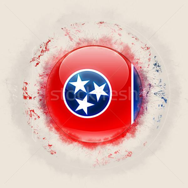 Tennessee zászló grunge ikon Egyesült Államok helyi Stock fotó © MikhailMishchenko
