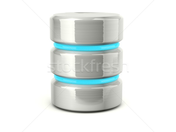 data base icon Stock photo © MikhailMishchenko