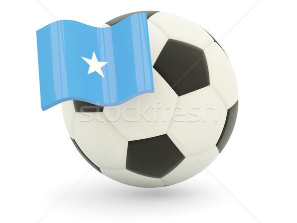 サッカー フラグ ソマリア 孤立した 白 スポーツ ストックフォト © MikhailMishchenko