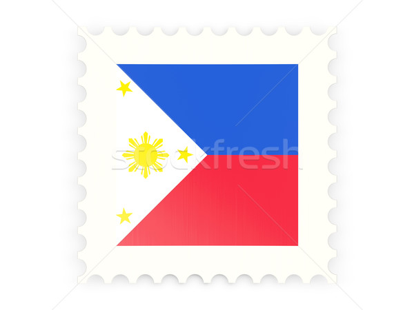 Postage stamp icon of philippines Stock photo © MikhailMishchenko