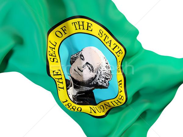 ワシントン フラグ 米国 ローカル フラグ ストックフォト © MikhailMishchenko