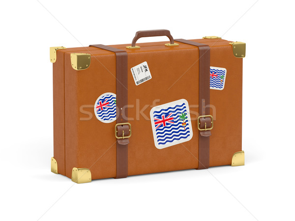Suitcase with flag of british indian ocean territory Stock photo © MikhailMishchenko