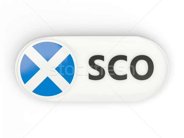 Round icon with flag of scotland Stock photo © MikhailMishchenko