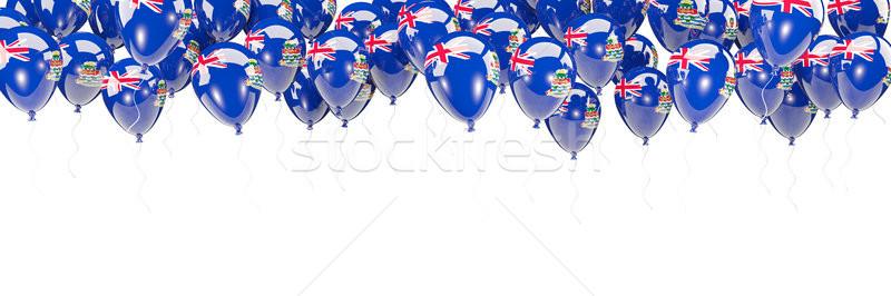 Balloons frame with flag of cayman islands Stock photo © MikhailMishchenko