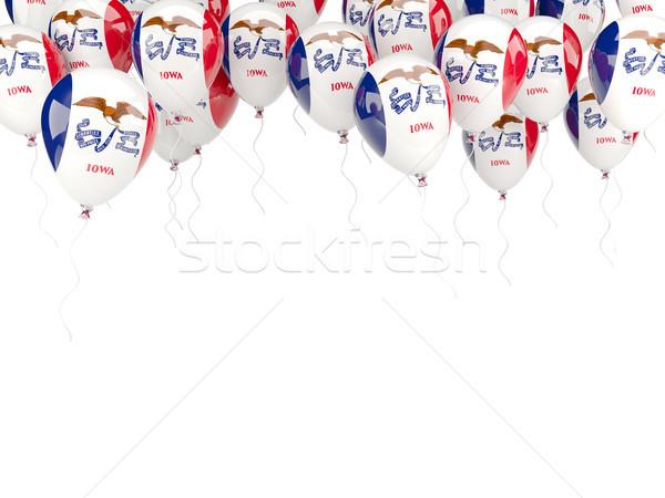 шаров кадр флаг Айова Соединенные Штаты местный Сток-фото © MikhailMishchenko