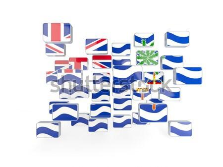 Bandiera britannico indian Ocean territorio Foto d'archivio © MikhailMishchenko