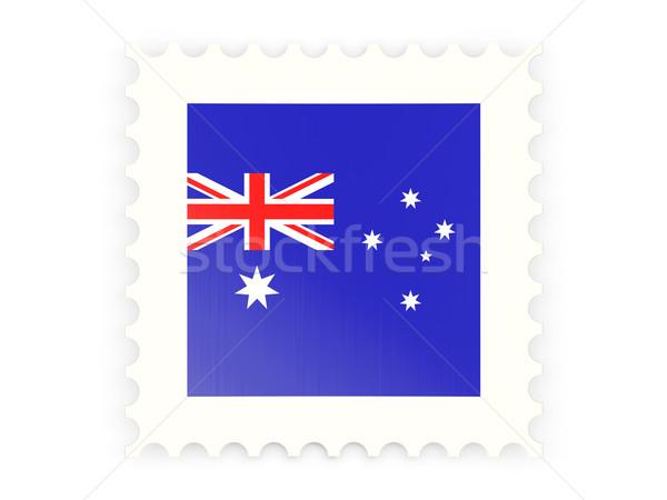Postage stamp icon of australia Stock photo © MikhailMishchenko