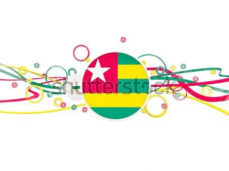 сердце флаг Камерун Top сердцах изолированный Сток-фото © MikhailMishchenko