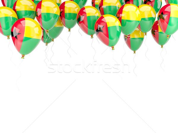 Balloon frame with flag of guinea bissau Stock photo © MikhailMishchenko