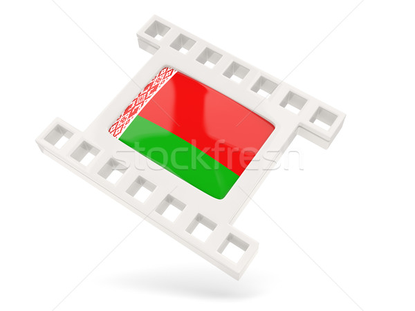 Movie icon with flag of belarus Stock photo © MikhailMishchenko