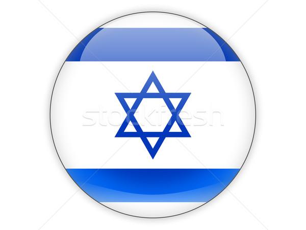 икона флаг Израиль изолированный белый путешествия Сток-фото © MikhailMishchenko