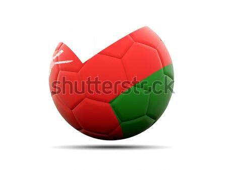 футбола флаг Бангладеш 3d иллюстрации Футбол спорт Сток-фото © MikhailMishchenko
