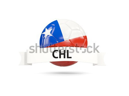 Flag of texas with banner, US state round icon Stock photo © MikhailMishchenko