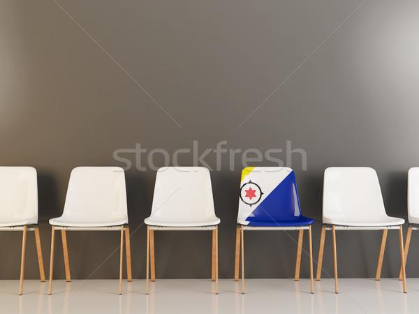 Chair with flag of bonaire Stock photo © MikhailMishchenko