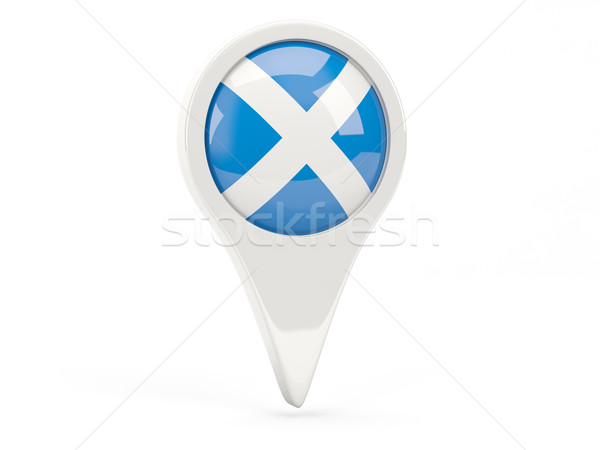 Round flag icon of scotland Stock photo © MikhailMishchenko