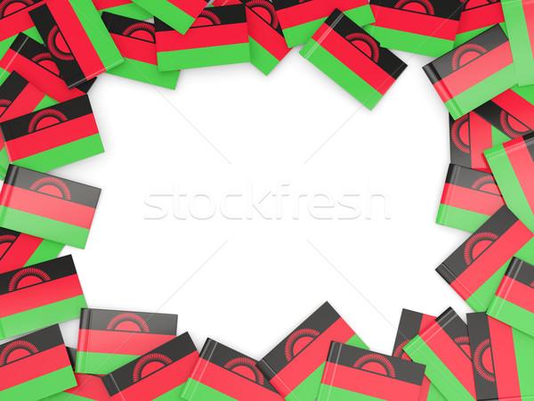 кадр флаг Малави изолированный белый Сток-фото © MikhailMishchenko