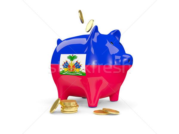 脂肪 貯金 ハイチ お金 孤立した 白 ストックフォト © MikhailMishchenko