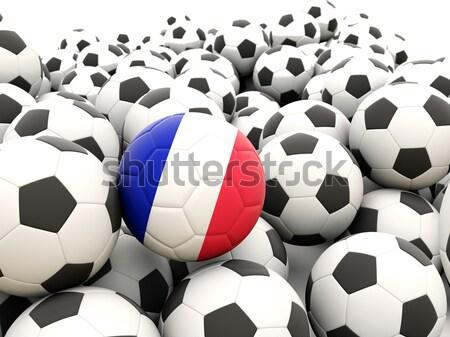 Football with flag of costa rica Stock photo © MikhailMishchenko
