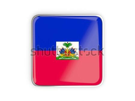 Icona Haiti isolato bianco mail Foto d'archivio © MikhailMishchenko