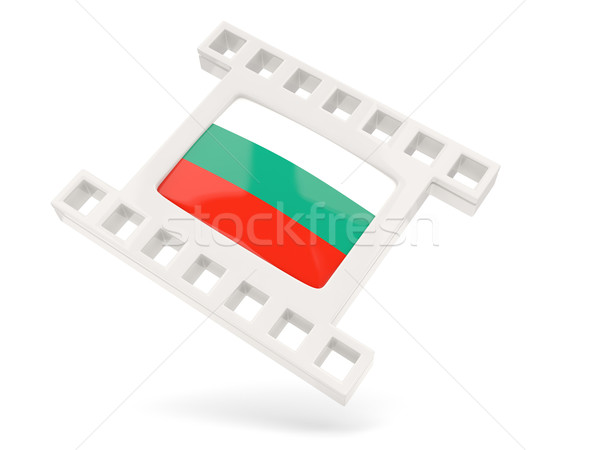 Movie icon with flag of bulgaria Stock photo © MikhailMishchenko