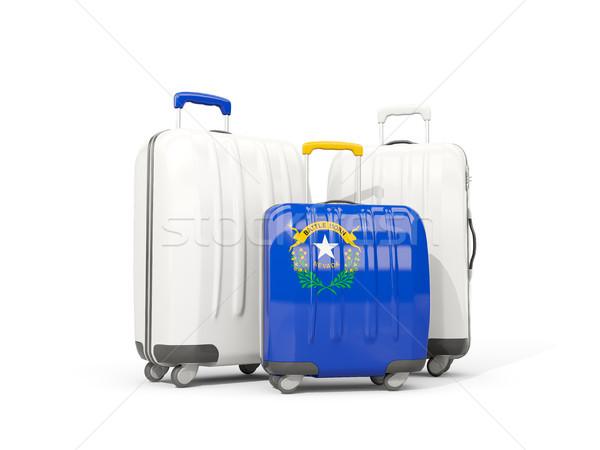 荷物 フラグ ネバダ州 3  袋 米国 ストックフォト © MikhailMishchenko