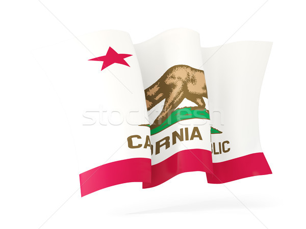 California bandiera icona Stati Uniti Foto d'archivio © MikhailMishchenko