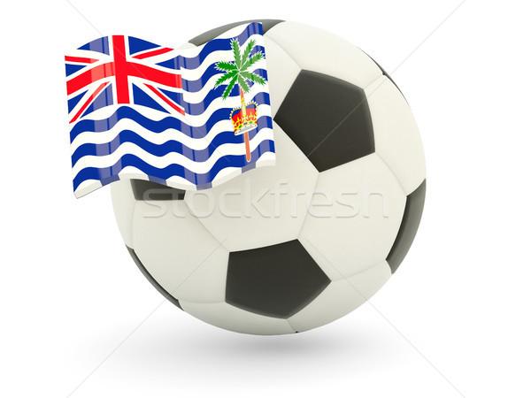 Football with flag of british indian ocean territory Stock photo © MikhailMishchenko